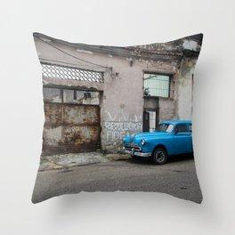 Viva la Revolucion Throw Pillow