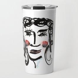 Red Cheeks Travel Mug