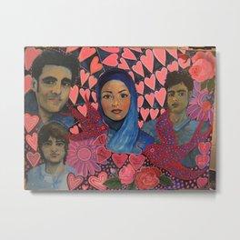Iranian Student Protestors  Metal Print
