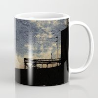 industrial Mugs featuring Industrial grunge by MJ'designs - Marosée Créations