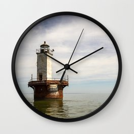 Solomons Lump Lighthouse Wall Clock