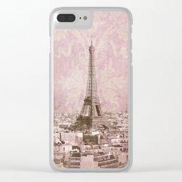 romantic Paris 2 Clear iPhone Case