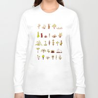 plants Long Sleeve T-shirts featuring Plants plants plants by Pol Clarissou
