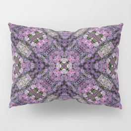 Pleated square Petals Pillow Sham