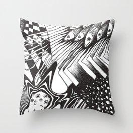 PSYKE2 Throw Pillow