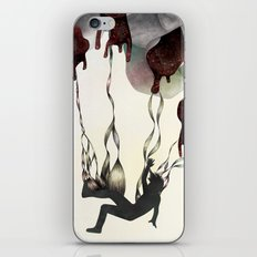 Rabbit in Your Headlights iPhone & iPod Skin