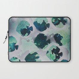 Tropical Fish Green Laptop Sleeve