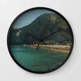 Italian Summer Wall Clock