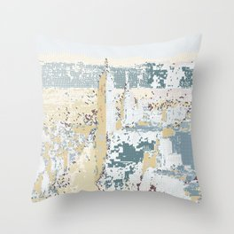 New York Pattern Lines 104 Throw Pillow
