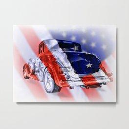 American Classic Metal Print