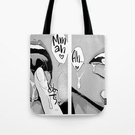 Sexy anime aesthetic - Wet dream Tote Bag