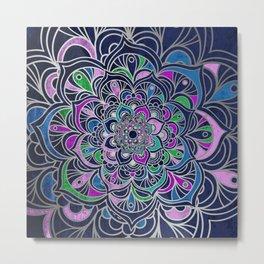Colorful purple Metal Print