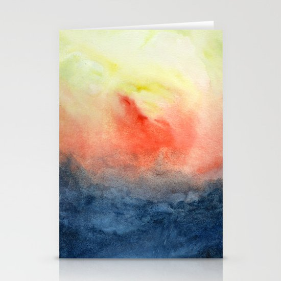 Brush Fire Stationery Cards