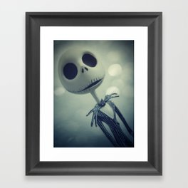 Mr. Jack (Nightmare Before Christmas) Framed Art Print