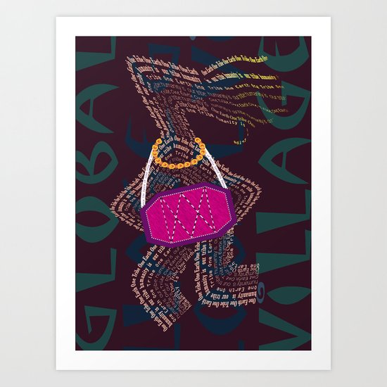 Global Village Art Print