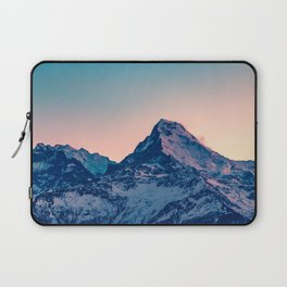 Beauty of the Snowy Himalaya Mountains in Nepal Laptop Sleeve