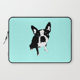 lucky luna in blue Laptop Sleeve