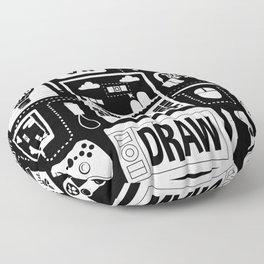 It's a Game Dev World Floor Pillow