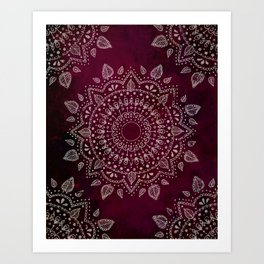 Wine Mandala Kunstdrucke