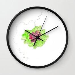 Scandi Micron Art Design   170412 Telomeres Healing 30 Wall Clock