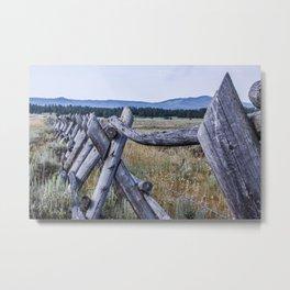 The Ranch III Metal Print
