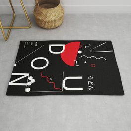 Udon type poster Rug