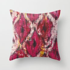 Ikat1 Throw Pillow