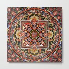 Buddhist Mandala 41 Chakrasamvara Luipa Metal Print