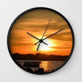 Sunset Glory Wall Clock