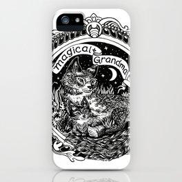 Magical Grandma iPhone Case