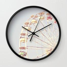 Vintage Ferris Wheel Wall Clock