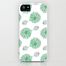PATTERN II Succulent Life iPhone Case