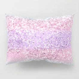 Unicorn Girls Glitter #8 #shiny #pastel #decor #art #society6 Pillow Sham
