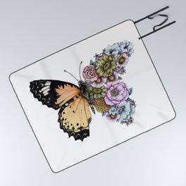 Butterfly in Bloom II Picnic Blanket