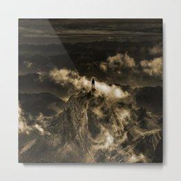 The storm of love Metal Print