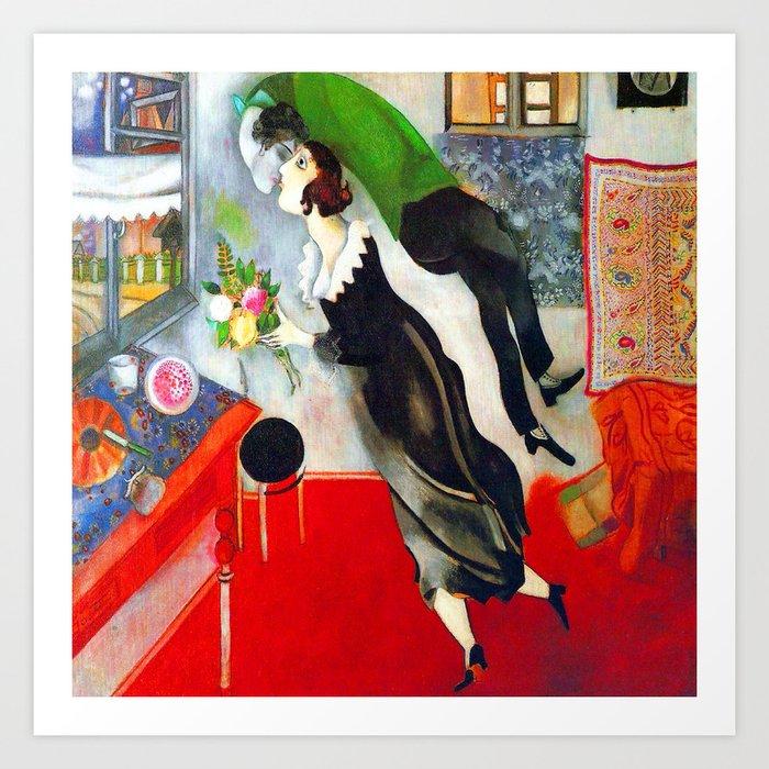 Marc Chagall The Birthday Kunstdrucke