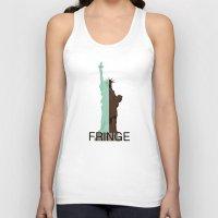 fringe Tank Tops featuring Fringe. Statue of Liberty by Prosha Pro