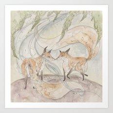 Fox [[ 2 ]] Art Print