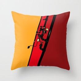 Urban Pipes Throw Pillow