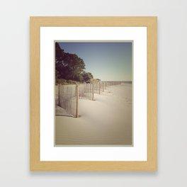 Simple Days Framed Art Print