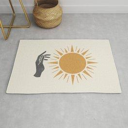 Sunburst Hand Rug