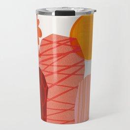 Abstraction_Cactus_&_Sun Travel Mug