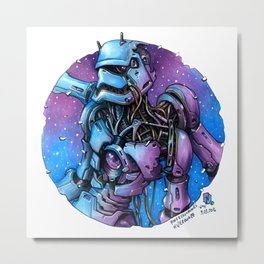 Robo trooper Metal Print