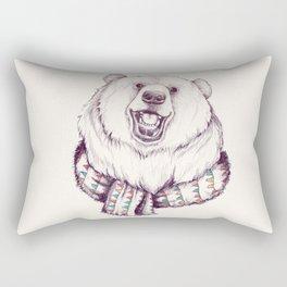 Bear & Scarf Rectangular Pillow