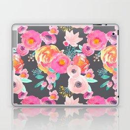 Indy Bloom Design Blush Grey Florals Laptop & iPad Skin