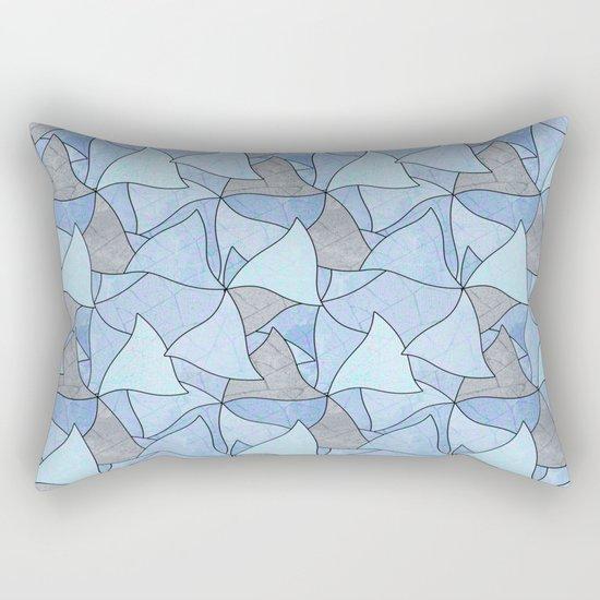 Abstract pattern . 2 Rectangular Pillow