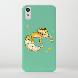 Sparkly Leopard Gecko iPhone Case