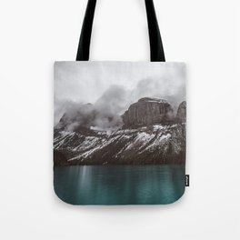 Landscape Maligne Lake Mountain View Photography | Alberta | Canada Tote Bag