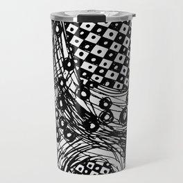 pulsating checkers Travel Mug