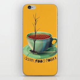 Good Coffee iPhone Skin